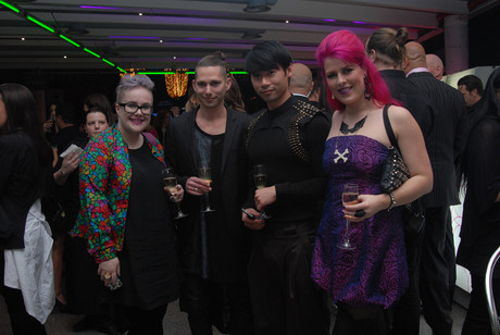 Guests at the New Zealand Fashion Week launch party (Photo: James Fyfe / 3 News)