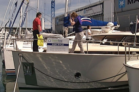 An estimated 100 boats have sold at the show, some for millions of dollars
