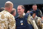 Prime Minister John Key meets NZ troops