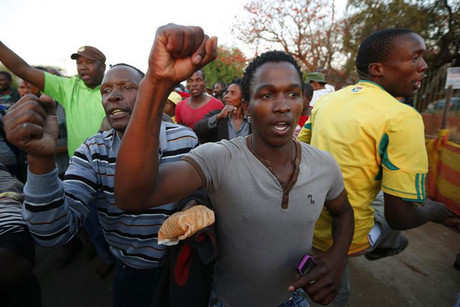 Support remains strong for striking miners in South Africa (Reuters)