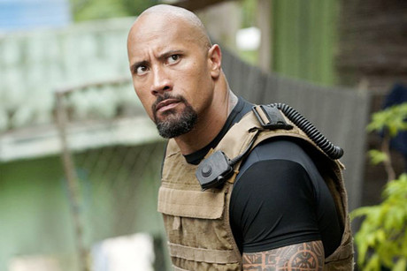Dwayne 'The Rock' Johnson in Fast & Furious 5