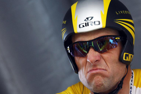 Lance Armstrong during the 2009 Tour de France (Reuters file)