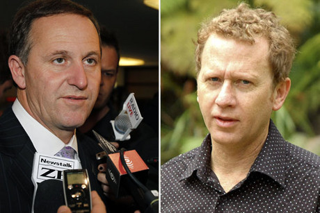 John Key and Russel Norman