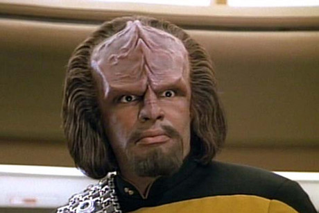 Michael Dorn in Star Trek: The Next Generation