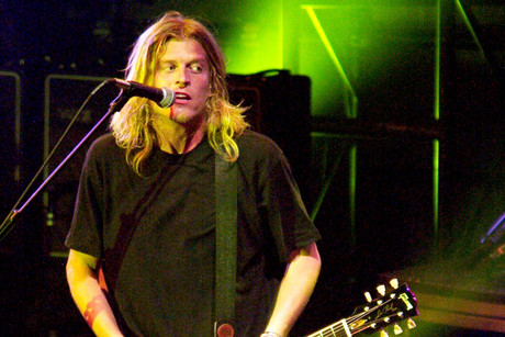Puddle of Mudd singer Wes Scantlin (Reuters)