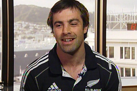 All Blacks' centre Conrad Smith