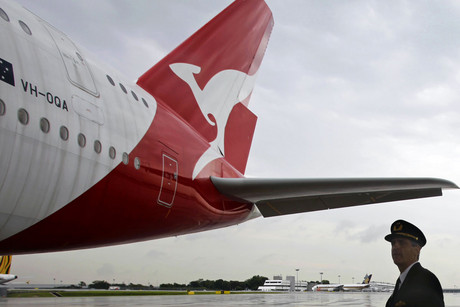 Last month Qantas announced an annual loss of $245 million dollars (Reuters)