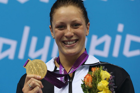 Kiwi Sophie Pascoe has lit up the pool (Reuters file)