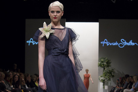There were some stunning dresses at Annah Stretton (Photo: Georgi Turner /3 News)