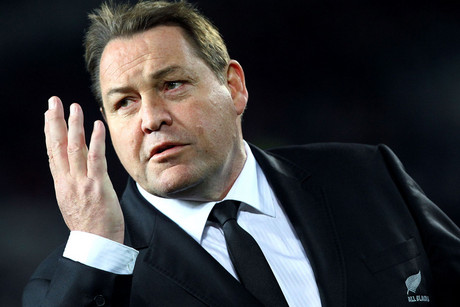 All Blacks' coach Steve Hansen (Photosport file)