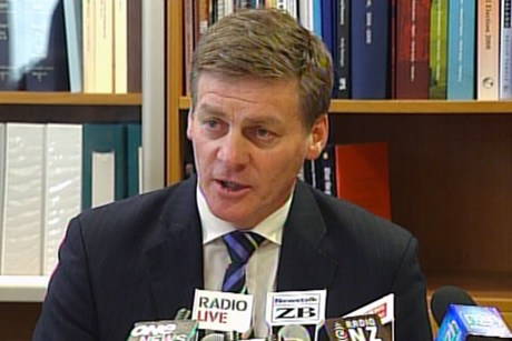 Finance Minister Bill English  (file)