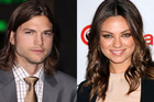 Mila Kunis and Ashton Kutcher (AAP)