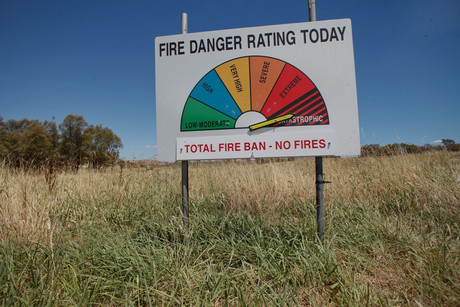 The fire danger in Australia was catastrophic last week (Reuters)