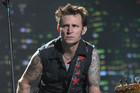 Green Day bassist Mike Dirnt (AAP)