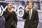 Sir Paul McCartney and Ringo Starr together at E3 in 2009 (Reuters)