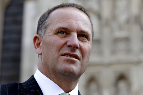 John Key (AAP file)