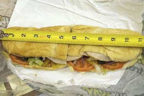 The 11-inch footlong that's caused outrage worldwide