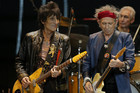 Ronnie Wood and Keith Richards (AAP)