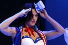 Katy Perry performs at the Kids Inaugural concert (Reuters)