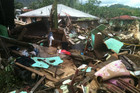 Damage in Samoa after Cyclone Evan