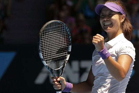 Li Na has advanced to the Australian Open semifinals (Reuters)