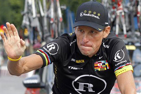 Disgraced cyclist Lance Armstrong (Reuters file)