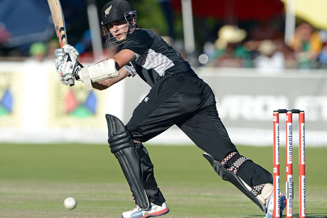 Kane Williamson scored and unbeaten 145 for the BlackCaps (Photosport)