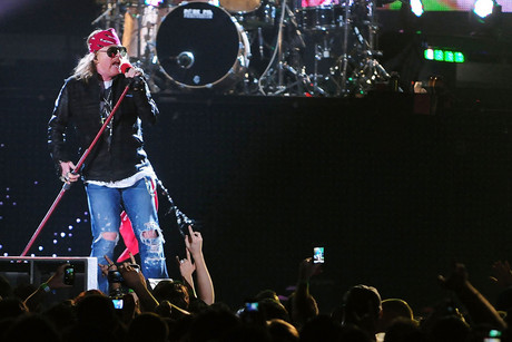 Guns N' Roses performing live (Photo: JLN Photography / WENN.com)