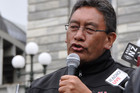 Mr Harawira formed Mana after leaving the Maori Party in early 2011 amid a dispute with its leaders (AAP file)