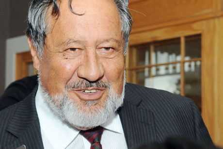 Maori Party co-leader Pita Sharples