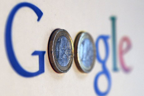 Shares in Google rose $44.63 to $747.60 (Reuters)