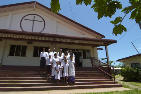 The Nawaka Village Methodist Choir (Photo: Supplied)