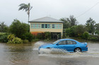 Flooding is seen at Chinderah in far north New South Wales (AAP)
