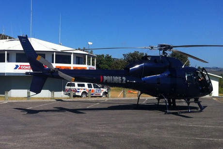 An extensive search of the inner harbour, involving a helicopter and boats yesterday evening and today, failed to find the missing Katikati man
