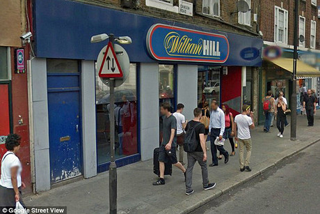The William Hill betting shop on Camden Road