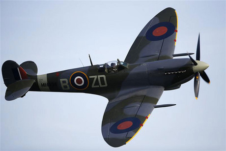A Second World War-era Spitfire (Reuters file)