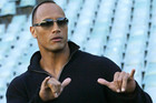 Dwayne Johnson (AAP)