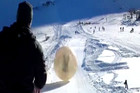 One man died in Russia in a zorb-like globe