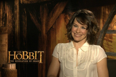 The Hobbit star Evangeline Lilly