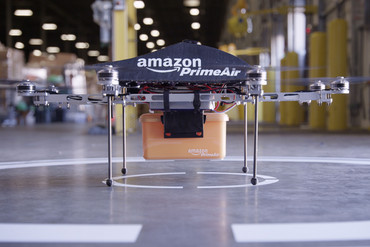 Amazon's drone prototype (Supplied)
