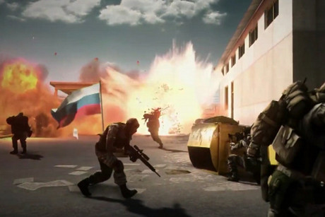 Capture the Flag gameplay in Battlefield 3 End Game