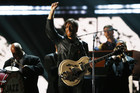 The Black Keys performing at the 2013 Grammy Awards (Reuters)