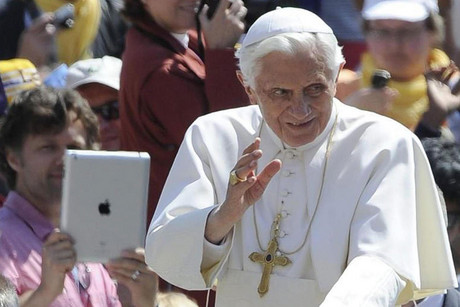 Pope Benedict XVI in May 2012 (AAP file)