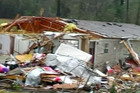 A house in Mississippi destroyed by a tornado (Reuters)