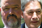 NZ First MP Richard Prosser, and NZ First leader Winston Peters (file)
