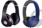 Beats by Dre and Yamaha PRO headphones