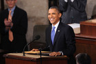 President Barack Obama addresses a Joint Session of Congress while delivering his State of the Union speech (AAP)