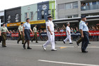 The crowd favourite was float number 33: the New Zealand Defence Force (Dan Lake/3 News)