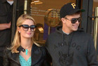 Paris Hilton and River Viiperi earlier this month (WENN.com)