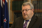 Earthquake Recovery Minister Gerry Brownlee